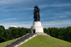 Memorial of the second world war Royalty Free Stock Image