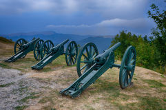 Memorial Shipka view in Bulgaria Royalty Free Stock Photos