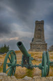 Memorial Shipka view in Bulgaria Stock Photography