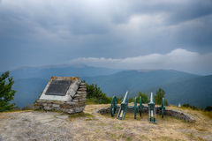 Memorial Shipka view in Bulgaria Royalty Free Stock Photography