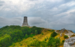 Memorial Shipka view in Bulgaria Stock Image