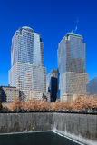 The 9/11 Memorial Site Royalty Free Stock Photography