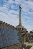 Memorial Slavin in Bratislava, Slovakia Royalty Free Stock Photos