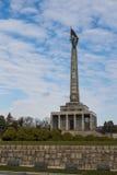 Memorial Slavin, Bratislava, Slovakia Royalty Free Stock Image