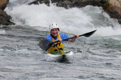 Memorial Slovakia -K1 women category Stock Images
