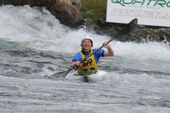 Memorial Slovakia -K1 women category Stock Photos