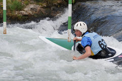 Memorial Slovakia -K1 women category Stock Photo