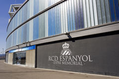 Memorial Space of RCD Espanyol stadium Stock Photo