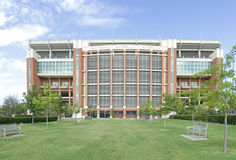 Memorial Stadium di Oklahoma Immagine Stock