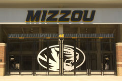 Memorial Stadium - universitet av Missouri, Columbia Arkivbilder