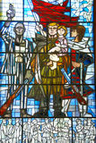 Memorial Stained Glass Stock Images
