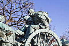 Memorial Statue. In front of US Capitol Building In Washington DC royalty free stock photos