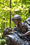 Memorial statues to Vietnam war Royalty Free Stock Photography