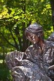 Memorial statues to Vietnam war Royalty Free Stock Image