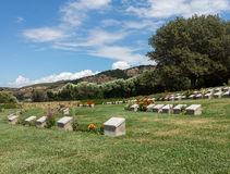 Memorial stone at Anzac Cove Gallipoli Stock Images