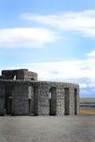 Memorial Stonehenge Replica stock photography