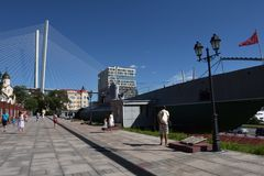 Memorial Submarine Museum S-56 in Vladivostok, Primorsky Krai in. Russia, Vladivostok, 26,08,2016 Memorial Submarine Museum S-56 in Vladivostok, Primorsky Krai Stock Photo