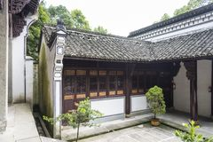 The Memorial Temple of Yan Ziling Stock Photography