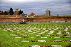 Memorial Terezin Stock Images