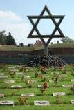 Memorial Terezin. Star of David (Czech Republic stock images