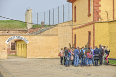 Memorial TEREZIN - Death camp Stock Image
