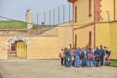Terezin war memorial  - Death camp Stock Image