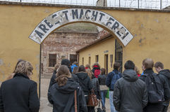 Memorial TEREZIN - Death camp Stock Photo
