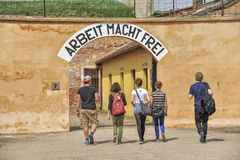 Memorial TEREZIN - Death camp Royalty Free Stock Images