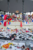 Memorial for the 14th july victim, Nice,France Stock Image