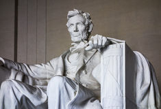 Memorial To Abraham Lincoln Royalty Free Stock Photo
