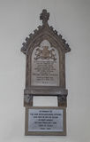 Memorial to Ada Lovelace at Hucknall Royalty Free Stock Images