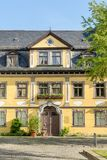 Memorial to Albert Schweitzer. In Weimar in Germany royalty free stock images