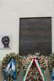 Memorial to Aldo Moro, in via Caetani, Rome Royalty Free Stock Photo