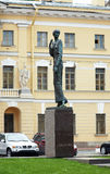 Memorial to Anna Akhmatova in St. Petersburg Royalty Free Stock Photo