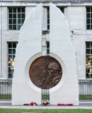 Memorial to the Armed Forces who fought in Iraq and Afganistan Royalty Free Stock Photography