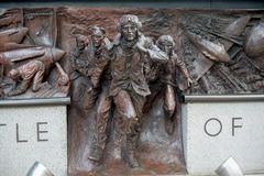 Memorial to the Battle of Britain. London, 28th September 2017:-Memorial to the Battle of Britain pilots from Fighter Command of World War 2 Stock Photos