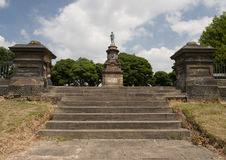 Memorial to the boer war Royalty Free Stock Photography