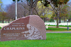 Memorial to Chaplains Royalty Free Stock Images