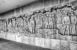 Memorial to the Children Victims of the War, Lidice - Czech repu Stock Images
