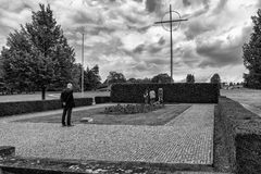 Memorial to the Children Victims of the War, Lidice - Czech repu Royalty Free Stock Image