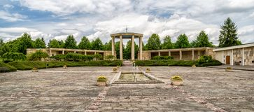 Memorial to the Children Victims of the War, Lidice - Czech repu Stock Image