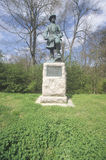 Memorial to Confederate Army Lieutenant General Steven Dill Lee of 1863, at Vicksburg National Military Park, MS Stock Photos