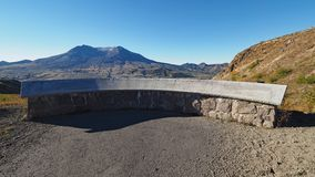 Memorial to the dead at Mount Saint Helens National Volcanic Monument. royalty free stock image