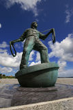 Memorial to deepsea fishermen Stock Photo