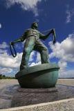 Memorial to deepsea fishermen Stock Photo