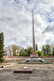 Memorial to fallen soldiers Great Patriotic War. Anna. Russia Royalty Free Stock Photos
