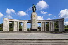 Memorial to the fallen Soviet soldiers Royalty Free Stock Photo