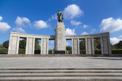 Memorial to fallen Soviet soldiers Royalty Free Stock Image