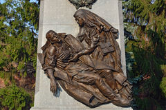 Memorial to Heroes  First world war. Kaliningrad (formerly Koeni Royalty Free Stock Photo