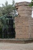 Memorial to Hungarian Volunteers Stock Images